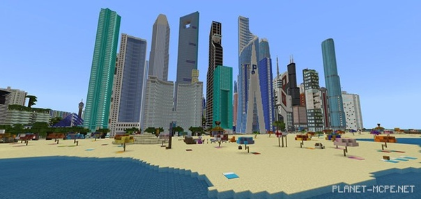 карту мегаполиса для майнкрафт 0.14.0 #2