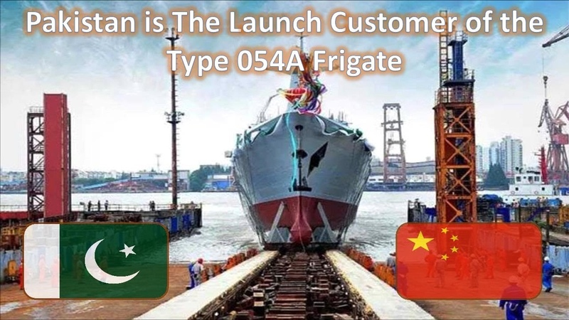 China Launches First Type 054A P Frigate for Pakistan Navy