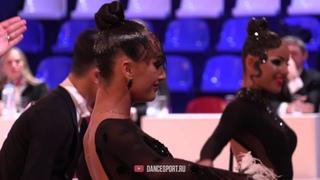 Колесников Владислав - Агеева Алина   Медленный фокстрот   Чемпионат России 2020   DanceSport