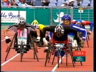 Sydney 2000 Paralympic Games - Mens T51 800m Final