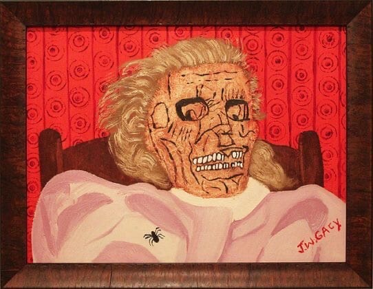 Джон Уэйн Гейси Шикарные работы...