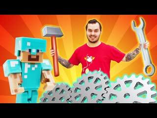 ИгроБой    Видео обзор - Что в сможет построить в Майнкрафт Нуб - Онлайн игра minecraft