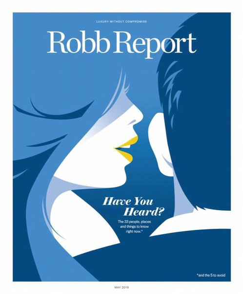 Robb Report USA – May 2019