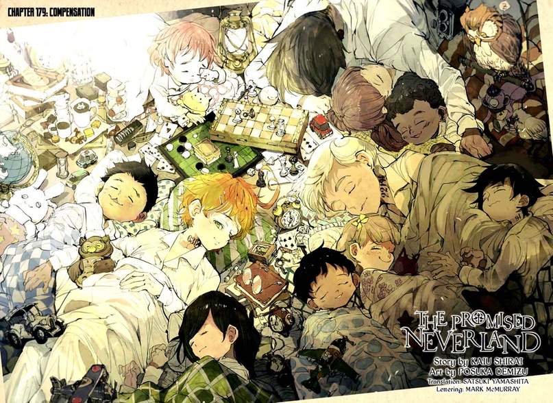 The Promised Neverland, Chapter 179, image #2