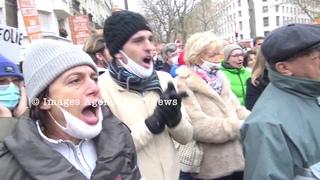 Rassemblement des Patriotes contre la Coronafolie. Paris/France - 05 Décembre 2020
