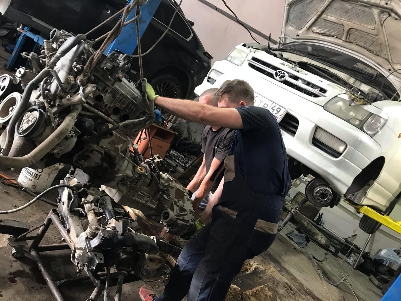 Toyota Noah на переоборудование, замена двигателя 3s на 5vz