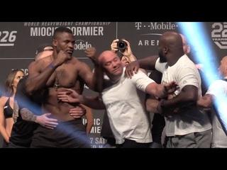 UFC 226 Ceremonial Weigh-Ins: Stipe Miocic vs Daniel Cormier  (FULL)