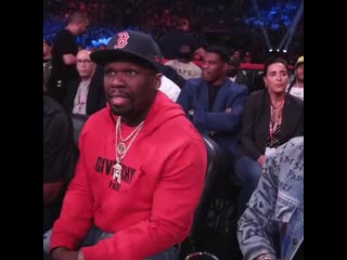 "50 cent on instagram_ ""yo the bellator fights were lit"""