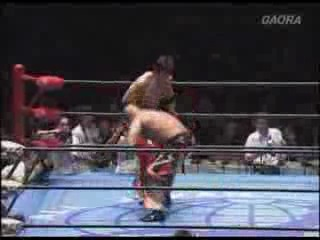AJPW  Singles TLC Match : Who is the best wrestler of Asia?.Great Muta vs KENSO