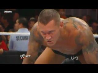 () RAW 22/11/10 - The Miz cash Money in the Bank Briefcase against Randy Orton