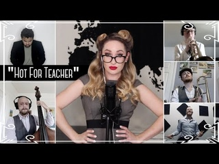 """""""Hot For Teacher"""" (Van Halen) Vintage Jazz Cover by Robyn Adele Anderson"""