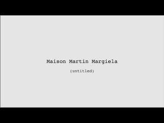 (UNTITLED) Maison Martin Margiela