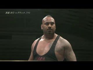 IWUBullet Club (Bad Luck Fale & Prince Devitt) vs.  Ryusuke Taguchi & Togi Makabe