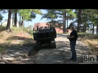 Боевые роботы - пулемёты на дистанционном управлении / Robots Machine Guns on the remote control