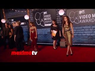 Zoey Deutch 2013 MTV Music AWARDS Red Carpet