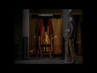 Спартак: Кровь и песок. Сцена с золотым Аполлоном