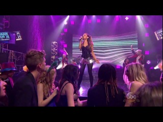 ▶ [live] Ariana Grande feat Big Sean - Right There Live on New Year's Rockin' Eve 2014 HD-720