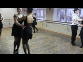 """Экзамен по народному танцу. 2 курс 1 семестр. Белорусский народный танец """"Лявониха"""""""