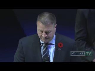 [HD] Pavel Bure Retirement Ceremony / Церемония чествования Павла Буре в Ванкувере (2013)