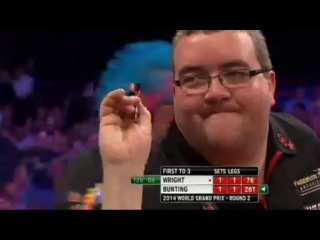 Peter Wright vs Stephen Bunting (World Grand Prix 2014 / Second Round)