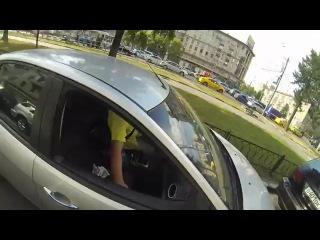 МОТО - Девушка на мотоцикле против мусора