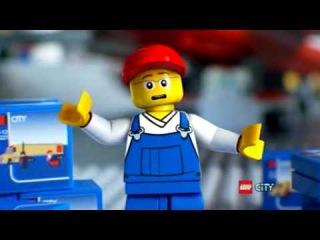 Жёлтая фура LEGO -  LEGO CITY Classic Truck маш