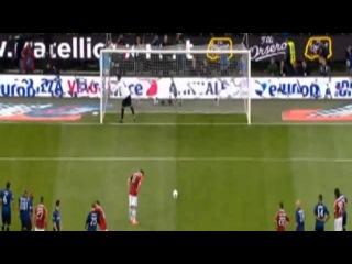 Julio Cesar Vs Zlatan Ibrahimovic - Inter Milan Vs AC Milan 4-2 HD [May.6 2012]