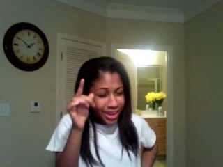 Tiffany Evans Singing I believe in you and me....