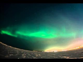 Aurora Borealis Arkhangelsk 17-01-2013