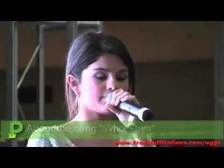 Selena Gomez Monte Carlo Mall Tour - Orland Square Mall -  (6/26/2011)