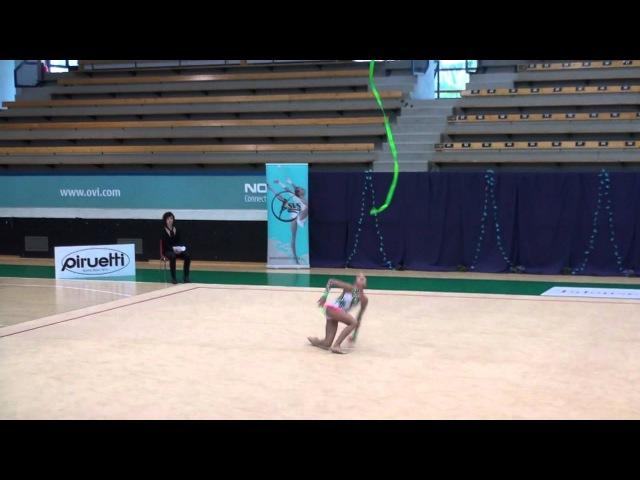 Liana Semenova SVS Open 2012 ribbon RUS