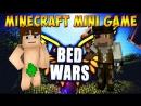 MINIGAME IN MINECRAFT 4 BED WARS