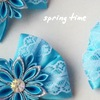 Spring time повязки, заколки, галстук-бабочки