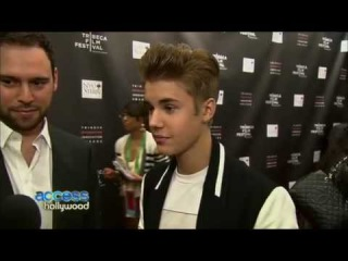 Justin Bieber & Scooter Braun interview on Access Hollywood