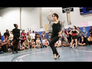 Semifinals: Essence vs Shorty vs Junko Sasaki | Step Ya Game Up 2012 Waacking | Funk'd Up TV
