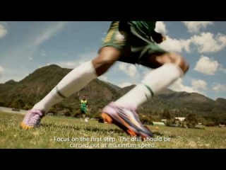 Nike Football+ Master Speed: Deslocamento Lateral