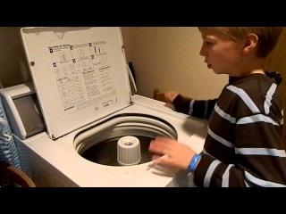 """""""Whirled Beat"""" 10-year-old boy drumming washing machine (original version)"""
