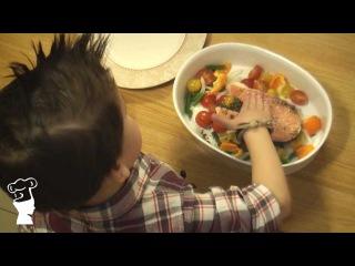 Легкий ужин (запеченная рыбка) - Готовим с Борисом