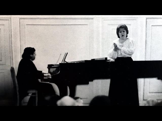Schubert Songs Melentieva Sokolov Leningrad 1976