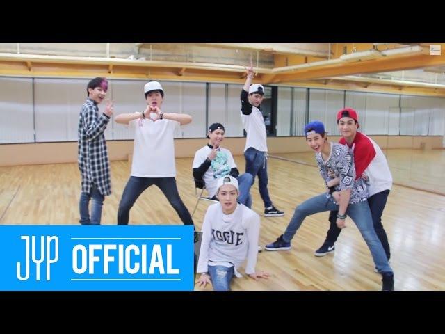 GOT7 I Like You(난 니가 좋아) Dance Practice 2 (Boyfriend Ver.)