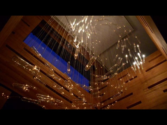 FLYLIGHT by Studio DRIFT at Moscow residence 2011