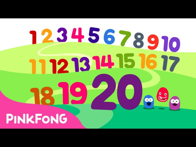 Counting 1 to 20 Number Songs PINKFONG Songs for Children