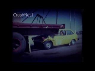 Краш-тесты Ford Fiesta 1979 года проводимые организацией NHTSA