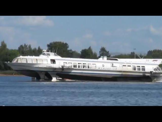 Полёт на подводных крыльях Hydrofoil Flight К столетию Ростислава Алексеева 1916 1980