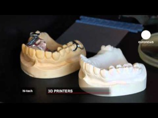 euronews hi-tech - Self assembly 3D printer kits set to revolutionise the home