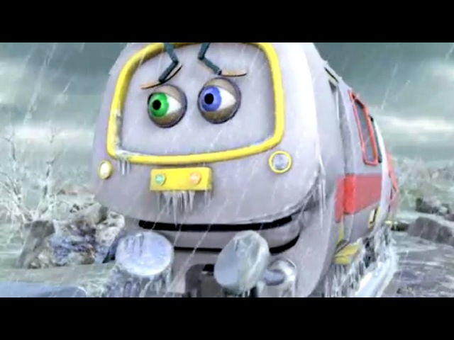 Веселые паровозики из Чаггингтона Ледяной дождь 68 2 Сезон мультики про паровозики