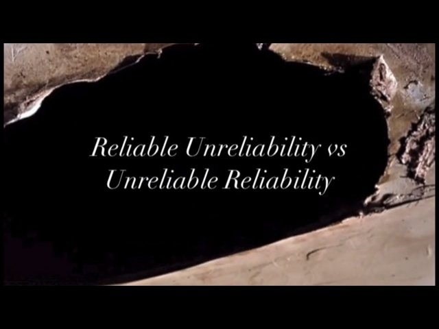 (un)reliable (un)reliability – or, Perceptual Subversions of the Continuity Editing System [an essay video]