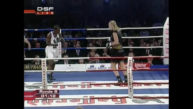 2008-11-28 Natascha Ragosina vs Conjestina Achieng II (WBCF WBAF Super Middleweight Titles)