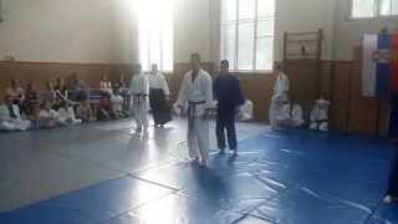 Realni Aikido-Polaganje za braon pojas