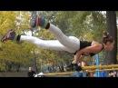 Street Workout Motivation in Ukraine Amazing Female Workout